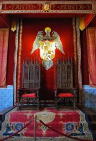 Aquí es donde el rey Fernando y la reina Isabel otorgó Cristóbal Colón su viaje a las Indias.